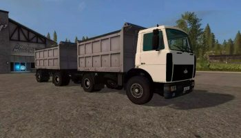 МАЗ 5551 V 3.0 для Farming Simulator 2017