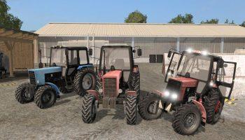 МТЗ-82 ПАК для Farming Simulator 2017