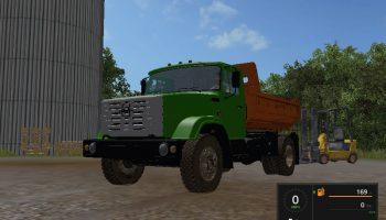 ЗИЛ-ММЗ 45085 для Farming Simulator 2017