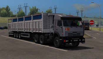 КАМАЗ 54115-43118 для Euro Truck Simulator 2