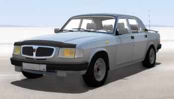 Волга 3110 бета для BeamNG DRIVE