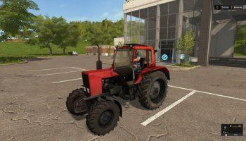 МТЗ 82 Красный для Farming Simulator 2017