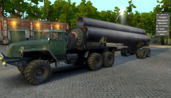УРАЛ-4320 «ARM» для Spin Tires