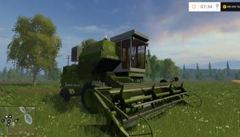 Енисей 1200-1M для Farming Simulator 2017
