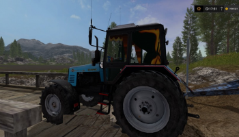 Белорус 1221 МТЗ для Farming Simulator 2017