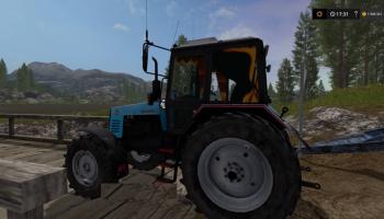 Белорус 1221 МТЗ для Farming Simulator 2017
