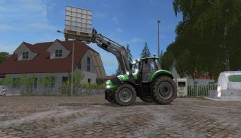 Deutz Fahr Agrotron 6190 TTV v 4.0 для Farming Simulator 2017