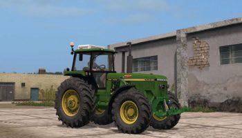John Deere 4955 US v 1.0 для Farming Simulator 2017