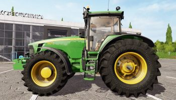 John Deere 8430 v2.2 для Farming Simulator 2017