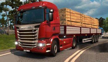 Exhaust Smoke v 2.5 для Euro Truck Simulator 2