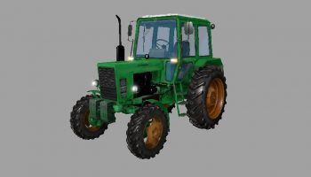 Русский трактор МТЗ 82 для Farming Simulator 2017