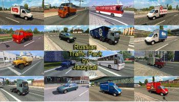 Русский траффик для Euro Truck Simulator 2