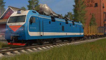 Электрический локомотив для Farming Simulator 2017