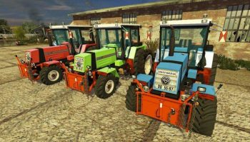 Fortschritt ZT323A для Farming Simulator 2017