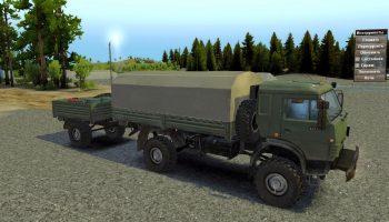 КамАЗ-4350 для Spin Tires