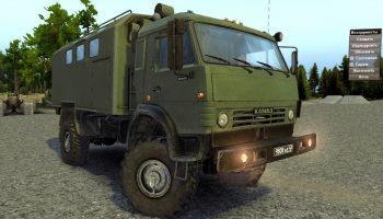 Spin Tires скачать КамАЗ-4350