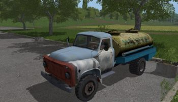 Скачать ГАЗ-52/53 для Farming Simulator 2017