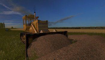 Бульдозер Т-170 для Farming Simulator 2017