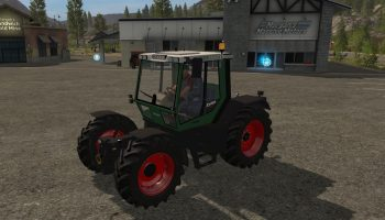 Fendt Xylon v1.1 для Farming Simulator 2017