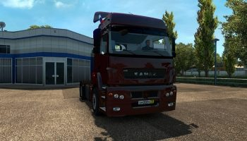 КамАЗ 5490 v1.28 для Euro Truck Simulator 2