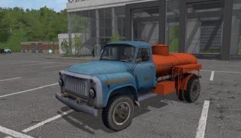 Грузовой автомобиль ГАЗ-52/53 скачать для Farming Simulator