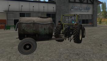 Бочка ВУО-3А для Farming Simulator 2017