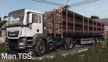 Пак MAN TGS v1.0 для Farming Simulator 2017