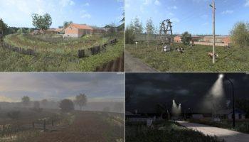 Gilus Kaimas — Глубинка для Farming Simulator 2017
