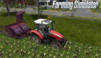 Ботвоуборочная машина БМ-6Б для Farming Simulator 2017