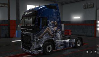 Catrinel Menghia для Volvo для Euro Truck Simulator 2