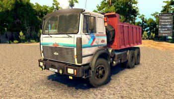 Скачать машину МАЗ-6317 для Spin Tires