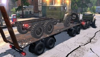 Прицеп M1 для Spin Tires