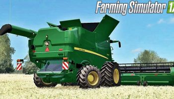 John Deere S690i для Farming Simulator 2017