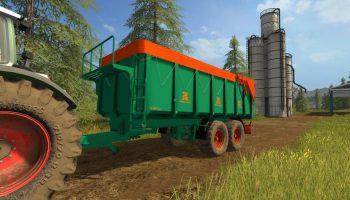 Aguas Tenias Tandem для Farming Simulator 2017