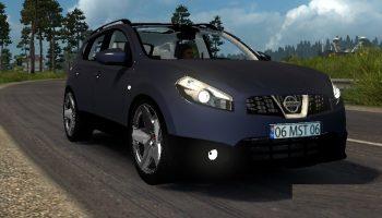 Nissan Qashqai 2010 для Euro Truck Simulator 2