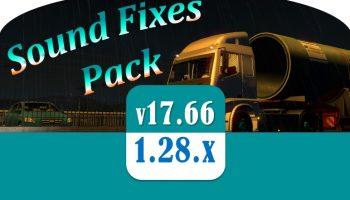 Sound Fixes Pack v17.66 для Euro Truck Simulator 2