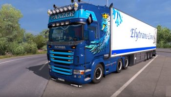 Звуки Scania V8 Stage III V2.0 для Euro Truck Simulator 2