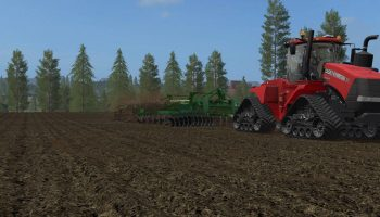 Case ih Quadtrac для Farming Simulator 2017
