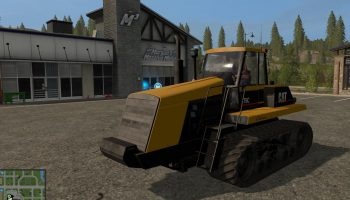 Cat 75C для Farming Simulator 2017