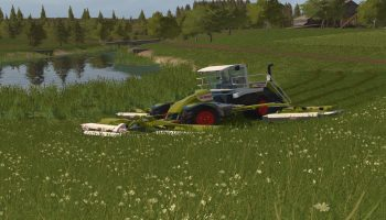 Claas Cougar 1400 V 2.0.0.1 для Farming Simulator 2017