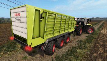 Claas Cargos для Farming Simulator 2017