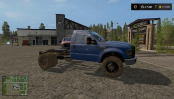 Ford F350 для Farming Simulator 2017