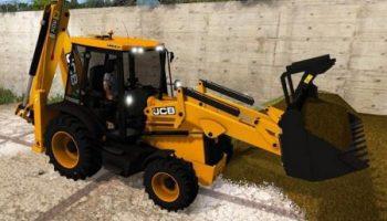JCB 3CX для Farming Simulator 2017