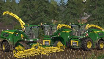 John Deere 8000 V3 Final Beast Pack для Farming Simulator 2017