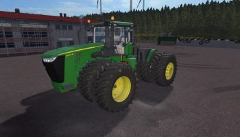 John Deere 9R для Farming Simulator 2017