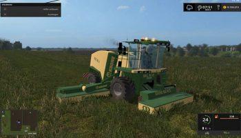 Krone big m 2 для Farming Simulator 2017