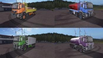 MAN TGS AR Pack v 2.0 для Farming Simulator 2017