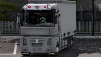 Renault Magnum для Euro Truck Simulator 2