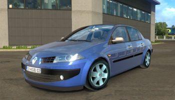 Renault Megane II для Euro Truck Simulator 2