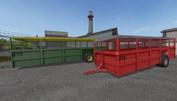 Richard Western Livestock для Farming Simulator 2017